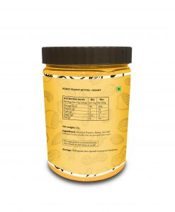01honey peanut butter 1 kg back side